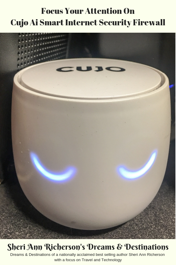 Cujo Ai Smart Internet Security Firewall working.