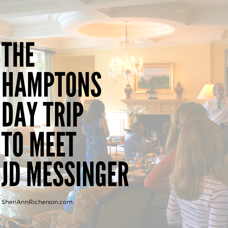 The Hamptons Day Trip To Meet JD Messinger