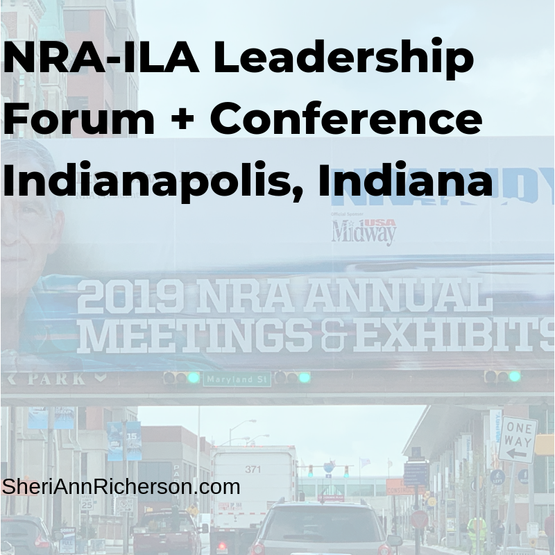 Heading to the NRA-ILA Forum + Conference.