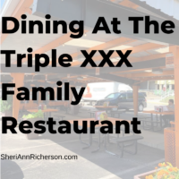 Dining At The Triple XXX Family Restaurant